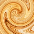 Coffee swirl. — Stock Photo
