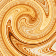 Stock Photo: Coffee swirl.