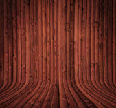 Dark wooden interior — Stock Photo