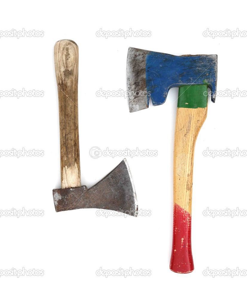 Two different types of axes. — Stock Photo © Leitner #30335507
