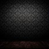 Dark interior room — Stock Photo