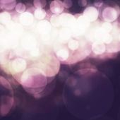 Elegant abstract background with bokeh defocused lights. — Stock Photo
