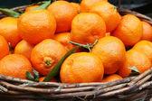 Mandarin oranges. — Stock Photo