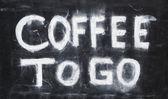 Coffee to go. — Stock Photo