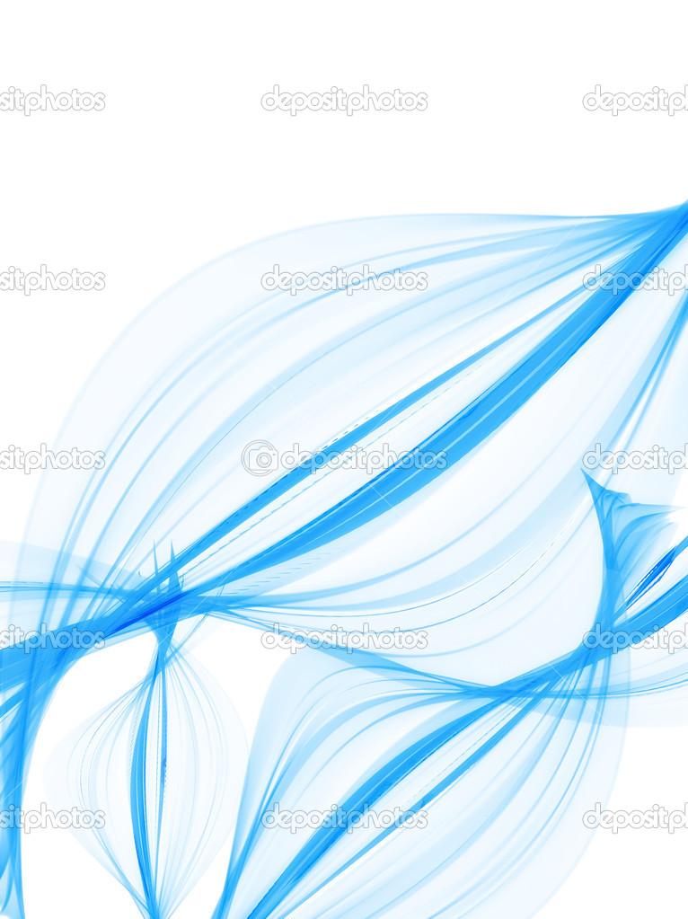 Fond d'écran abstrait bleu — Photo #15651641
