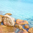 Rocks in clear turquoise water — Stock Photo #14534541