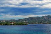 Gallura bulutlar ve deniz — Stok fotoğraf
