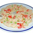 Royalty-Free Stock Photo: Risotto with peas and bell peppers
