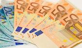 Euro rekeningen — Stockfoto