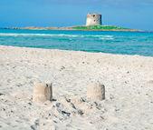 Sand towers — Stock Photo