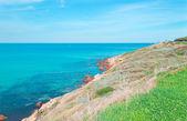 Turquoise sea — Stock Photo
