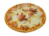 ピザ、ソーセージ、チーズ — ストック写真