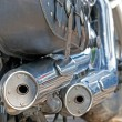 Exhaust — Stockfoto