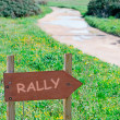 Stock Photo: Rally
