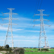 Stock Photo: Two pylons