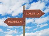 问题与解决方案 — 图库照片