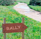 Rally — Stock fotografie