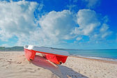 šlapadlo za zatažené obloze — Stock fotografie