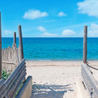 Beach entrance — Stock Photo #24920947