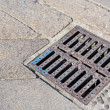 Sewer cover — Stock Photo
