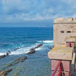 Stock Photo: Bastion by sea