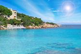 Costa smeralda kust — Stockfoto