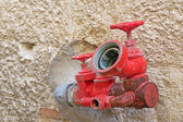 Red spigot — Stock Photo