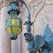 Lamp and gargoyle — Stock Photo #24947939