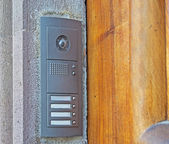 Entry phone — Stock Photo