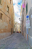 Old Alghero street — Stock Photo