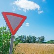 Right of way — Stock Photo