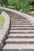 Scala in pietra — Foto Stock