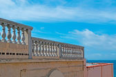 Alghero railing — Stock Photo