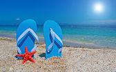 V písku — Stock fotografie