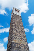 Dramatic bell tower — Stock Photo