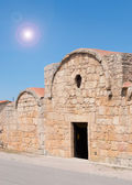 Sole sopra la chiesa di san giovanni — Foto Stock
