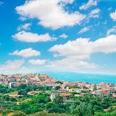 Sardinian small town — Stock Photo