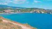 Aldea junto al mar — Foto de Stock
