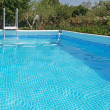 Pool on a clear day — Stock Photo