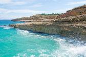 Turquoise waves — Stock Photo