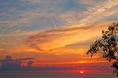 Schilderachtige zonsondergang — Stockfoto