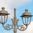 Retro street lamp — Stock Photo