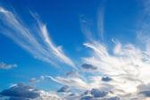 白とグレーの雲 — ストック写真