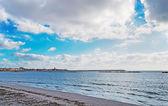 Alghero üzerinde bulutlar — Stok fotoğraf