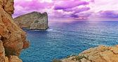 Capo Caccia coast — Fotografia Stock