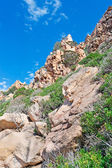 Gallura rocks — Foto Stock
