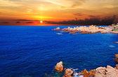 Rocky sunset — Stock Photo