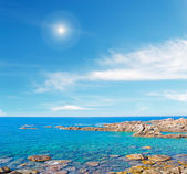 Sun and sea — Stock Photo