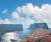 Clouds over Capo Caccia — Foto Stock