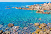 Rocks in Costa Paradiso — Stock Photo